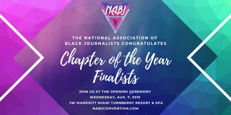 NABJ 2019 Convention Finalist